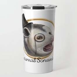 Awkward Opossum Travel Mug