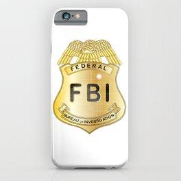 FBI Badge iPhone Case
