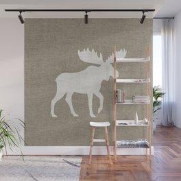 Moose Silhouette Wall Mural