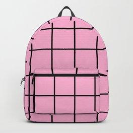 Rose Quartz Grid Backpack