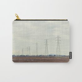 Power Lines above Marshlands, San Francisco Bay #1 Carry-All Pouch