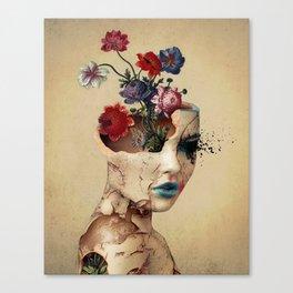Broken Beauty Canvas Print