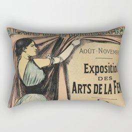La Parisienne 1892 Women's Art Rectangular Pillow
