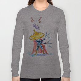 Big Trouble From Little Buddha  Long Sleeve T-shirt