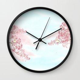 A day for cherry blossom | Miharu Shirahata Wall Clock