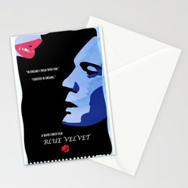 Blue Velvet  Stationery Cards