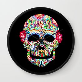 death & details  Wall Clock
