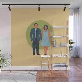 Save the Date - The Couple - Love Wall Mural