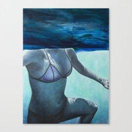 Underwater Ocean Series #4 Canvas Print