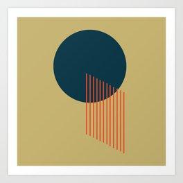 Orbit 2 Art Print