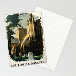 Railwayposter Southwell Minster Stationery Cards