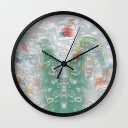 Pond Life Wall Clock
