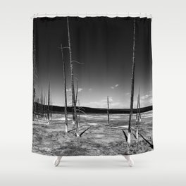 Lodgepole Pines Shower Curtain