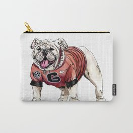 UGA Print Carry-All Pouch