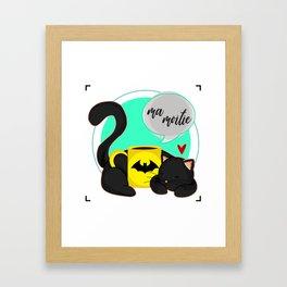 Ma Moitie (Jane + Maximoff) Framed Art Print