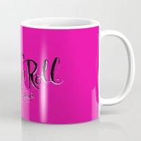 lou reed Mugs featuring RIP Lou Reed by Chris Piascik