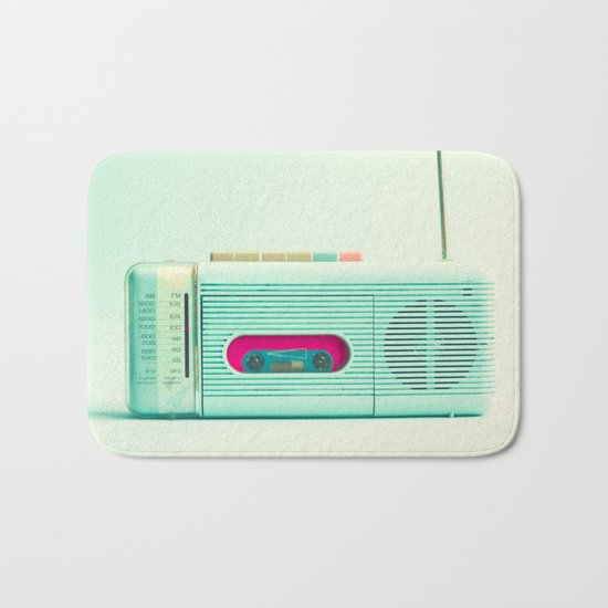Radio Days  Bath Mat