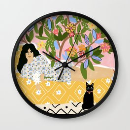 Paint Me Like One of Your French Ladies Wall Clock