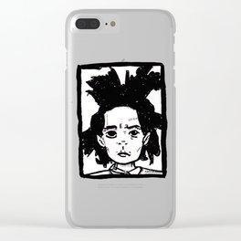 Basquiat Clear iPhone Case