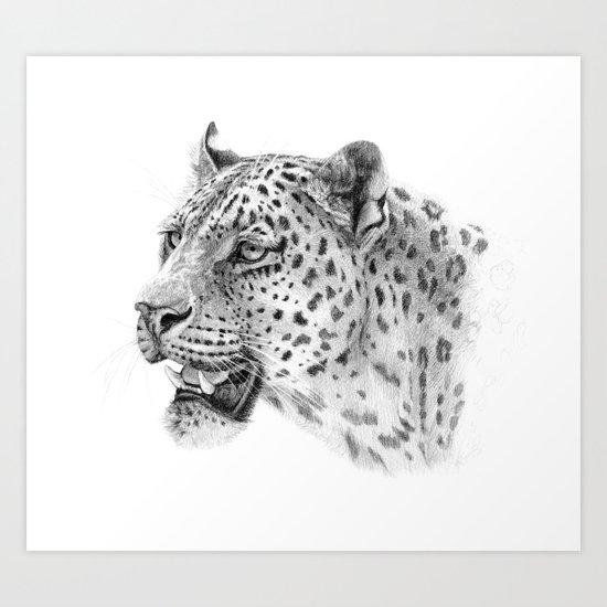 Leopard G2011-09 Art Print