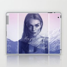 A song to the mountains Laptop & iPad Skin