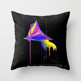 anomaly in sector KRC2496 Throw Pillow