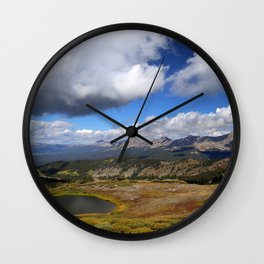 Cottonwood Pass Wall Clock