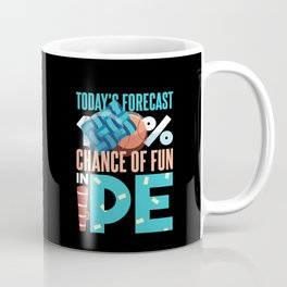 Fun in PE - Funny Physical Education Teacher Gift Coffee Mug