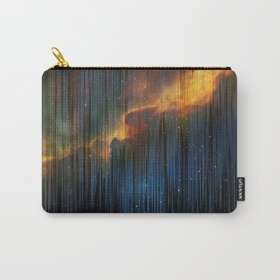 Planet Pixel Fall Down Carry-All Pouch
