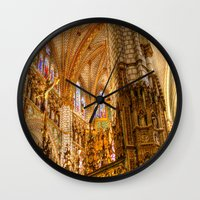ornate Wall Clocks featuring Ornate by John Hinrichs