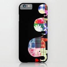 Patchwork Elephants - Love Slim Case iPhone 6s