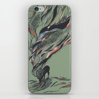 huebucket iPhone & iPod Skins featuring Dream Again by Huebucket