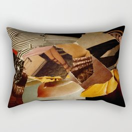 colourful collage-III Rectangular Pillow