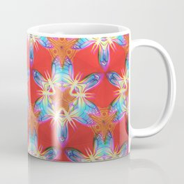 Nine-Pointed Star Flower: Perfection Coffee Mug