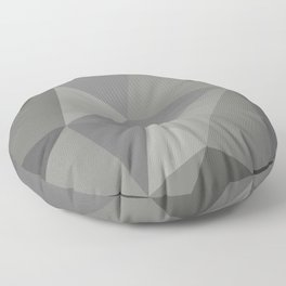Polygon art 01 Floor Pillow