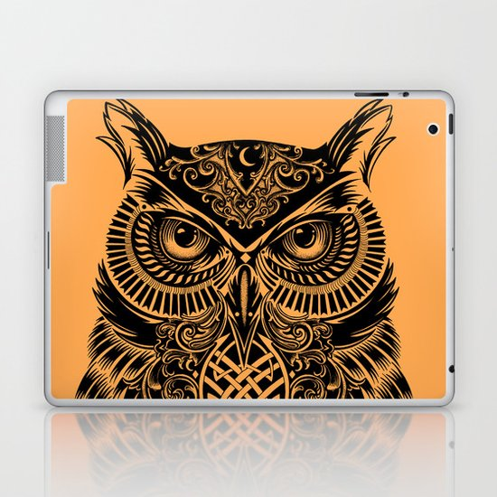 Warrior Owl 2 Laptop & iPad Skin