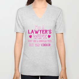 Lawyer's Wife Unisex V-Neck