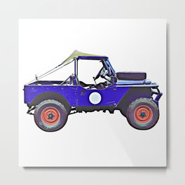 1955 Land Rover Metal Print