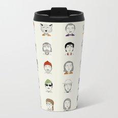 The Characters of W Metal Travel Mug
