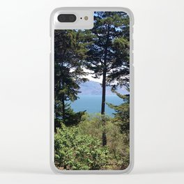 Lake Atitlan Clear iPhone Case