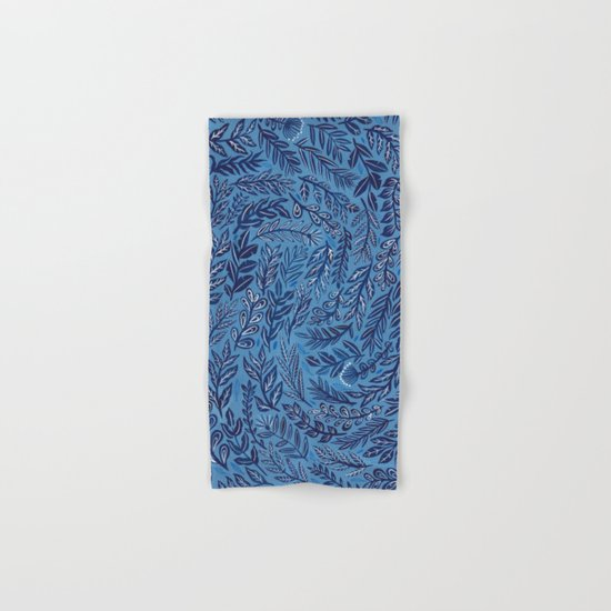 Blue Branches Hand & Bath Towel