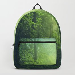 Lush Green Forest Backpack