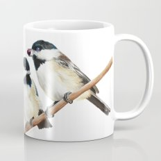 Black Capped Chickadees Mug