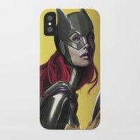 batgirl iPhone & iPod Cases featuring BATGIRL by corverez