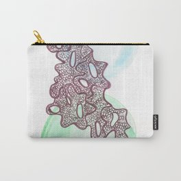 15 // Abstract 9 March 2017 | Abstract Shapes Art Colour Carry-All Pouch
