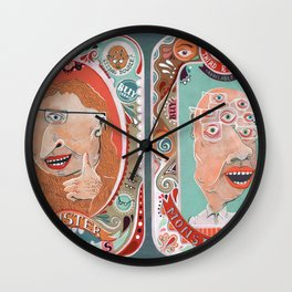 Monster Focals Wall Clock