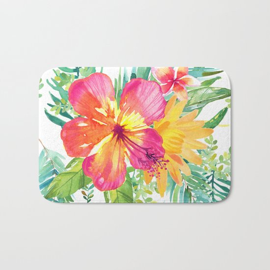 Floral paradise Bath Mat