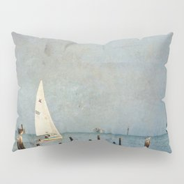 A Good Day for Sailing Pillow Sham
