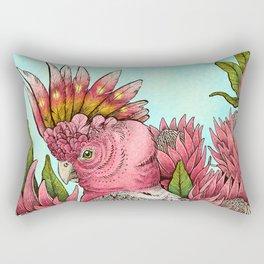 Major Mitchells Cockatoo Rectangular Pillow