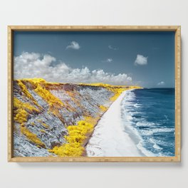 Cliff Panorama Photo Print Serving Tray